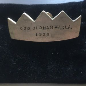 Vintage Todd Oldham Clasp Pin